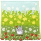 Hand Towel - 34x36cm - Jacquard Weaving - Applique & Embroidery - Totoro - Ghibli - 2015 (new)