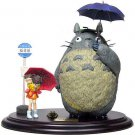 1 left - Figure - Totoro & Satsuki & Mei & Frog & Bus Stop - cominica - no production (used)
