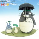 25% OFF - Paper Craft Kit - Totoro & Chu & Sho Totoro - Ghibli - 2015 (new)