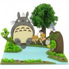 Miniatuart Kit - Mini Paper Craft Kit - Totoro & Chu & Sho & Satsuki & Mei - Ghibli - 2014 (new)