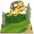 Miniatuart Kit - Mini Paper Craft Kit - Nekobus Catbus Satsuki Mei - Totoro - Ghibli - 2014 (new)