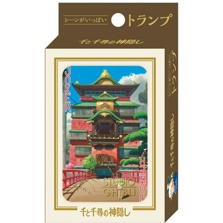 Playing Cards - 54 Different Pictures from Scene - Special Case - Spirited Away - 2015 (new)