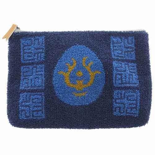 Big Pouch Bag - 28x18cm - Sagara Embroidery - Hikouseki Flying Stone - Laputa - Ghibli - 2015 (new)