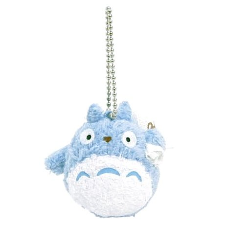 Chain Strap Holder - Fluffy Mascot - Chu Totoro carrying Bag - Ghibli - Sun Arrow (new)