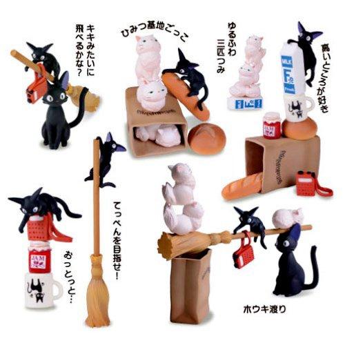 Figure - Build Up Toy - 23 Pieces - Tsumutsumu - Kiki's Delivery Service - Ensky - 2014 (new)