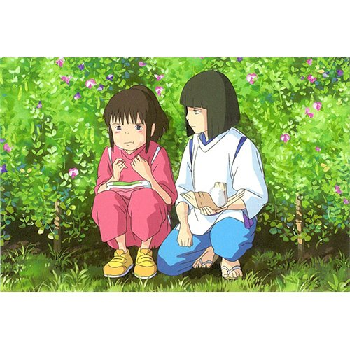 Postcard - Sen & Haku - Spirited Away - Ghibli - 2015 (new)