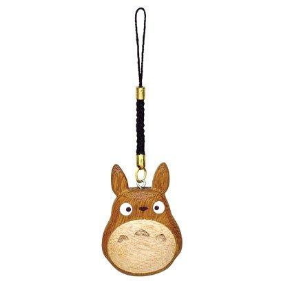 Strap Holder - Wooden - Chu Totoro - Ghibli - Sun Arrow - 2015 (new)