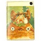 Pass Case - Cowhide - Mei & Sho & Totoro - Ghibli - 2015 (new)