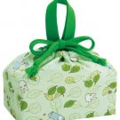 Lunch Bento Bag / Kinchaku - leaf - made in Japan - Totoro - Ghibli - 2015 (new)