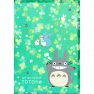 Clear File A4 - made in Japan - green - clover - Totoro - Ghibli - 2015 (new)