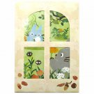 Card & Envelope Set - 5 Card & 5 Envelope - Window - Totoro - 2015 (new)