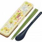 Spoon & Chopsticks in Case - 18cm - cushion - dishwasher - made in Japan - Totoro - 2014 (new)