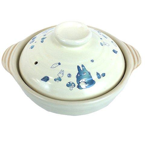 Pot / Nabe & Lid - 700ml - Potter's Clay / Kaolin - Totoro - Ghibli - 2015 (new)