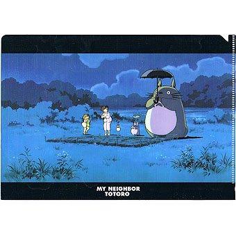 Clear File A5 - 15.5x22cm - dondoko dance - Totoro & Chu & Sho & Mei & Satsuki - Ghibli - 2015 (new)