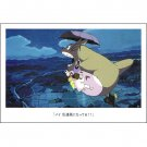 Postcard - Satsuki & Mei & Totoro - Ghibli - 2015 (new)