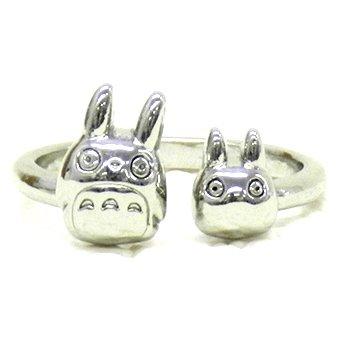 1 left - Ring #11 - Adjustable - Brass - Totoro & Sho Totoro - Ghibli - 2015 - no production (new)