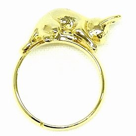 Ring #11 - able to adjust - Brass & Tin Alloy - gold - Jiji - Kiki's Delivery Service - 2015 (new)