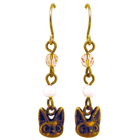 Pierced Earring - Hook Type -Antique Gold - Jiji - Kiki's Delivery Service -2012- no production(new