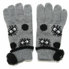 Gloves - Kids - Jacquard Weaving Knit - Kurosuke Mascot Boa - Totoro - Ghibli - 2015 (new)