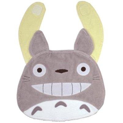 Baby Bib - Velcro - Grey - Totoro - Sun Arrow - Ghibli - 2014 (new)