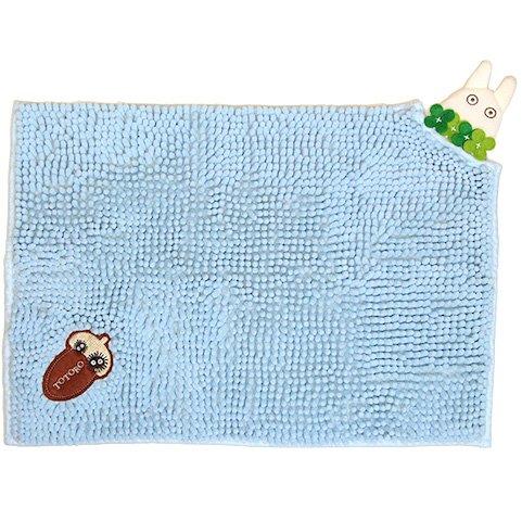 Mat Rug - 35x40cm - Fluffy - Embroidery - Sho Totoro - Ghibli - 2015 (new)