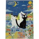 Clear File A4 - blue - made in Japan - Jiji & Lily - Kiki's Delivery Service - Ghibli - 2015 (new)