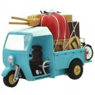 Figure - Pull Back Car Toy - Move Forward- 3 Wheel Truck - Sho Totoro & Kurosuke - Ensky -2015 (new)