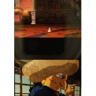 1left- Bookmarker - Movie Film #21-6 Frame- Yubaba & Bounezumi - Spirited Away - Ghibli Museum (new)