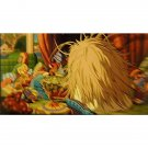 1 left - Bookmarker - Movie Film #29 - 6 Frame - Yubaba - Spirited Away - Ghibli Museum (new)