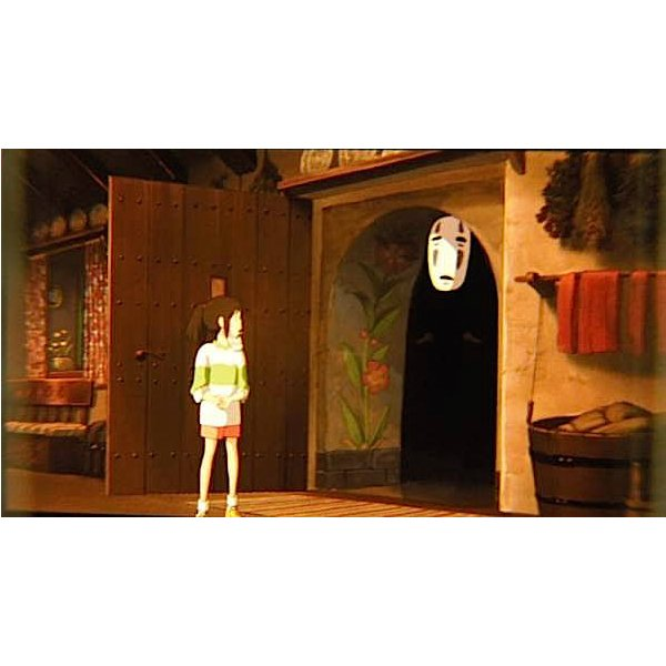1 left - Bookmarker - Movie Film#31 - 6 Frame - Sen & Kaonashi - Spirited Away - Ghibli Museum (new)
