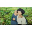 1left- Bookmarker - Movie Film #40- 6 Frame- Howl & Old Sophie - Howl's Moving - Ghibli Museum (new)