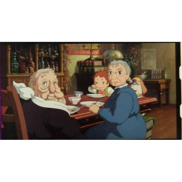 RARE 1 left - Bookmark Movie Film #46 - 6 Frame Sophie Markl Heen Witch Howl's Moving Ghibli Museum