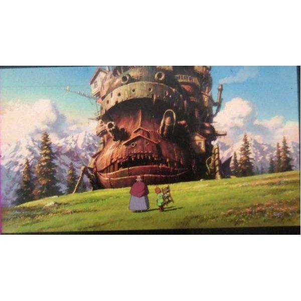 1 left- Bookmarker -Movie Film #60- 6 Frame - Old Sophie Markl Castle - Howl's Moving - Museum (new)