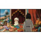 1 left- Bookmarker - Movie Film #40 - 6 Frame - Yubaba & Haku - Spirited Away - Ghibli Museum (new)