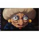 1 left- Bookmarker - Movie Film #50 - 6 Frame - Yubaba - Spirited Away - Ghibli Museum (new)