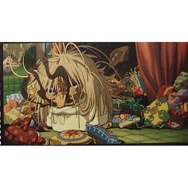 1 left - Bookmarker - Movie Film #61 - 6 Frame - Yubaba - Spirited Away - Ghibli Museum (new)