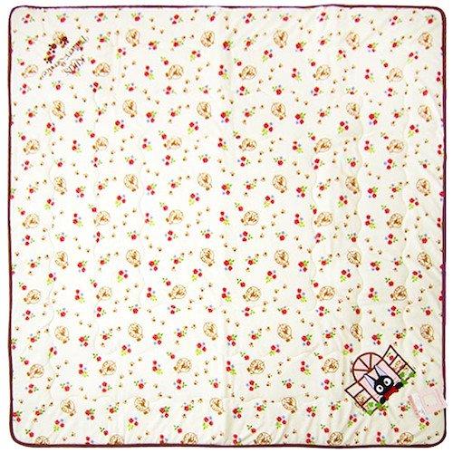 Floor Mat -190x190cm- Urethane Foam - Applique- Jiji - Kiki's Delivery Service - Ghibli - 2013 (new)