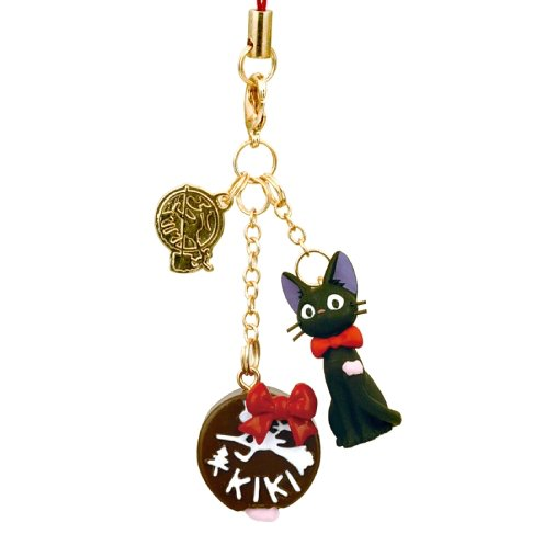 Strap Holder & Hook - Jiji & Chocolate - Kiki's Delivery Service - 2010 (new)