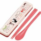 Spoon & Chopsticks in Case -18cm- made Japan - Kiki's Delivery Service - 2014 - no production (new)