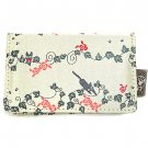Card Case - 10 Pockets - Jacquard Weaving - Jiji - Kiki's Delivery Service - Ghibli - 2015 (new)