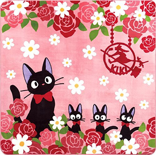 Rug Mat - 180x180cm - Rose - Jiji - Kiki's Delivery Serivice - Ghibli - 2015 (new)