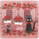 Rug Mat -180x180cm- Plastic Case - Rose Wall - Jiji - Kiki's Delivery Serivice - Ghibli -2014 (new)
