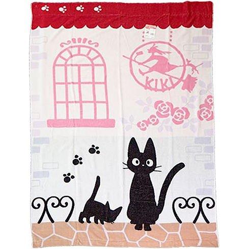 Towel Blanket - 140x200cm - Cotton - Jiji - Kiki's Delivery Service - Ghibli - 2016 (new)