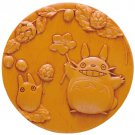Compact Mirror & Pouch Kinchaku - Relief - Totoro - Ghibli - 2016 (new)