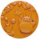 Compact Mirror & Pouch Kinchaku - Relief - Totoro - Ghibli - 2016 (new)