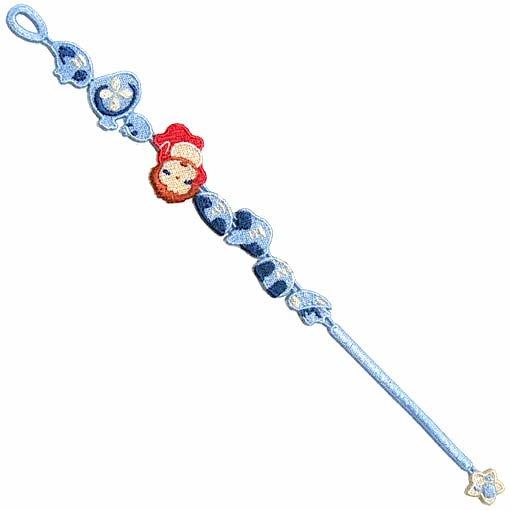 Bracelet - Embroidery Lace - Jellyfish - Ponyo - Ghibli - 2015 (new)