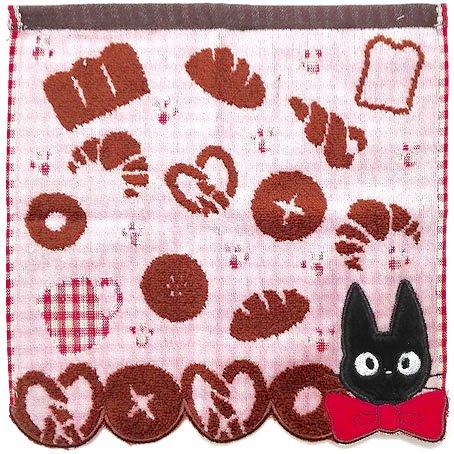 Mini Towel 25x25cm - Shirring Jacquard Weaving Bread Jiji Kiki's Delivery Service 2015 no production
