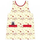 Apron - 2 Pocket - Jiji Fur Applique - Rose & House - Kiki's Delivery Service - Ghibli - 2016 (new)