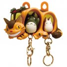 2 Key Holder & Case - Totoro & Sho Totoro Key Holder - Nekobus Case - Ghibli - 2016 (new)