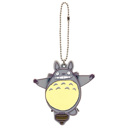 Strap Holder - Pin Badge - Eyes & Ears Move - Totoro - Ghibli - 2016 (new)